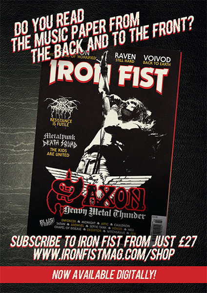 Iron Fist Magazine Subs Page