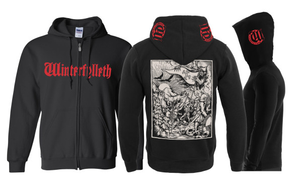 Winterfylleth Warrior Herd Hoodie Illustration
